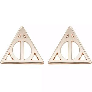Jewelry - Harry Potter Deathly Hallows Earrings